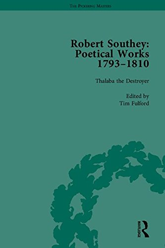 9781851967315: Robert Southey: Poetical Works 1793–1810 (The Pickering Masters)