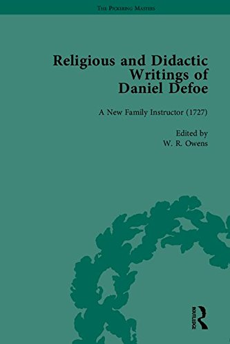 Religious and Didactic Writings of Daniel Defoe: Pt. I (Hardback): J. A. Downie, Daniel Defoe