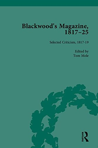 Blackwood's Magazine, 1817-25: Selections from Maga's Infancy: Nicholas Mason