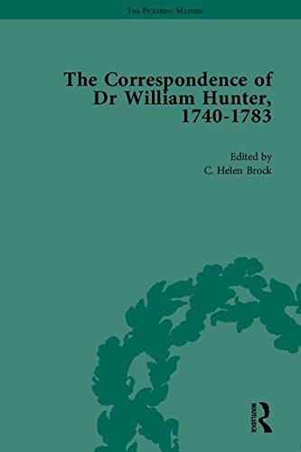 9781851969043: The Correspondence of Dr William Hunter (The Pickering Masters)