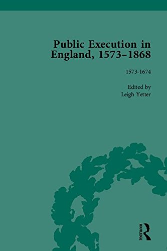 9781851969425: Public Execution in England, 1573–1868, Part I