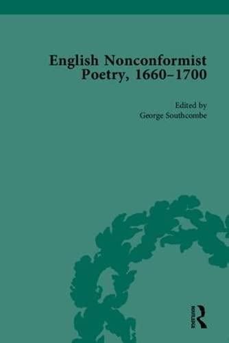 9781851969654: English Nonconformist Poetry, 1660–1700