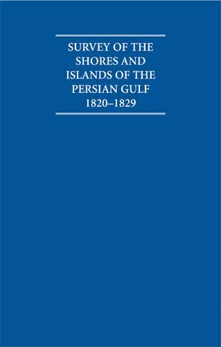 Survey of the Shores and Islands of the Persian Gulf 1820-1829 5 Volume Set Including Boxed ...