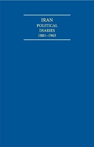 Iran Political Diaries 1881-1965 14 Volume Hardback Set (Hardback): Robert L. Jarman