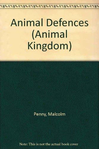 Animal Defences (Animal Kingdom)