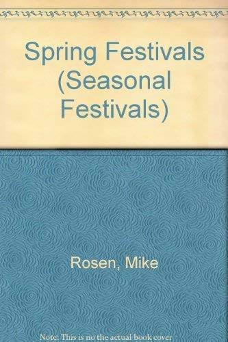 9781852109509: Spring Festivals (Seasonal Festivals)