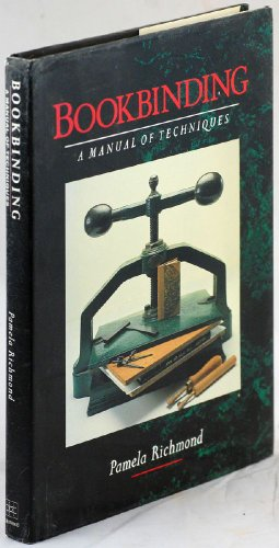 9781852231750: Bookbinding: A Manual of Techniques