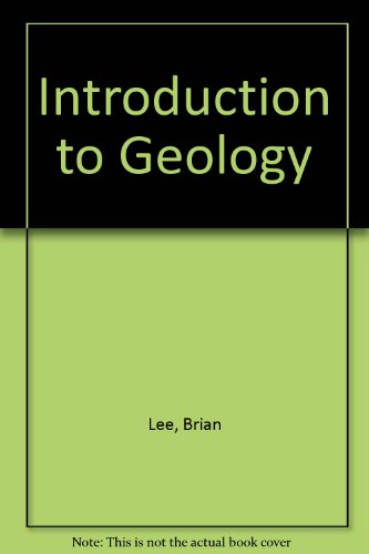 Introduction to Geology (1852232013) by Lee, Brian