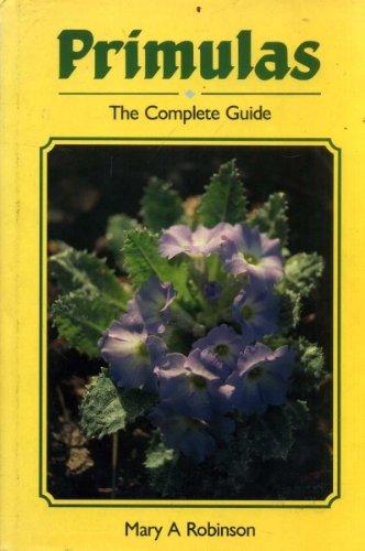9781852233136: Primulas: The Complete Guide