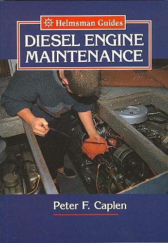 9781852236960: Diesel Engine Maintenance (Helmsman Guides)