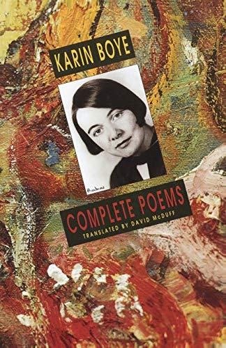 Complete Poems.: BOYE, Karin.