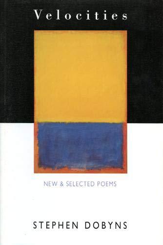 9781852242640: Velocities: Poems, 1966-92