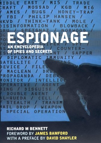 9781852279424: Espionage: An Encyclopedia of Spies and Secrets (Virgin True Crime)