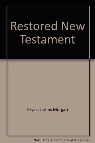 9781852281816: Restored New Testament