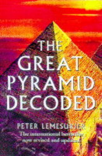 9781852308612 great pyramid decoded abebooks peter lemesurier 9781852308612 great pyramid decoded malvernweather Gallery