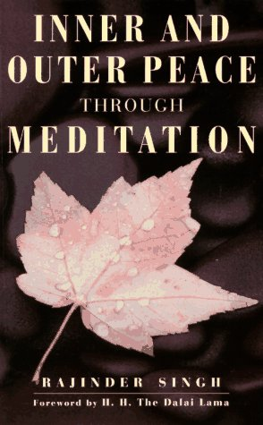 9781852309497: Inner & Outer Peace Through Meditation