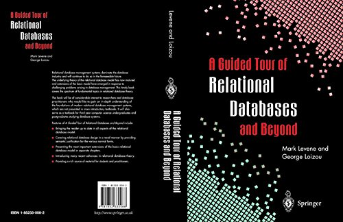 9781852330088: A Guided Tour of Relational Databases and Beyond