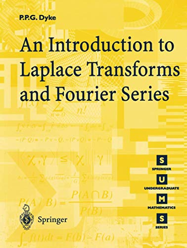 9781852330156: An Introduction to Laplace Transforms and Fourier Series