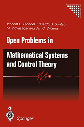 9781852330446: Open Problems in Mathematical Systems and Control Theory (Communications and Control Engineering)