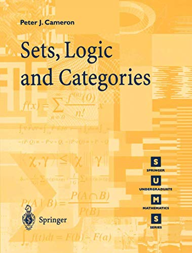 9781852330569: Sets, Logic and Categories (Springer Undergraduate Mathematics Series)