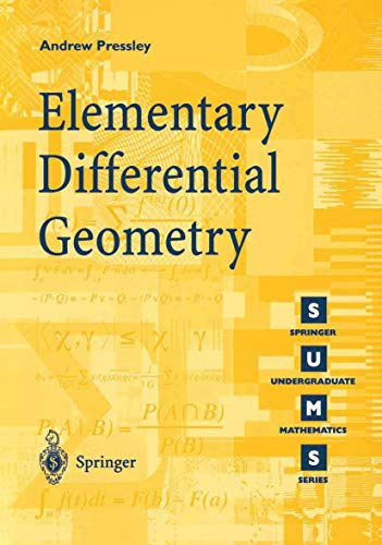 9781852331528: Elementary Differential Geometry