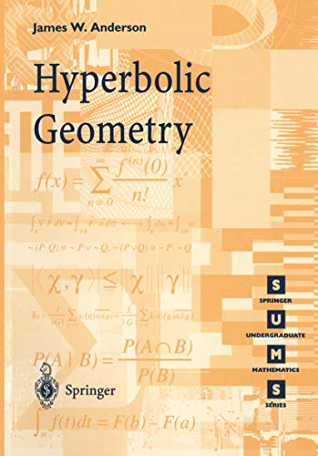 9781852331566: Hyperbolic Geometry (Springer Undergraduate Mathematics Series)
