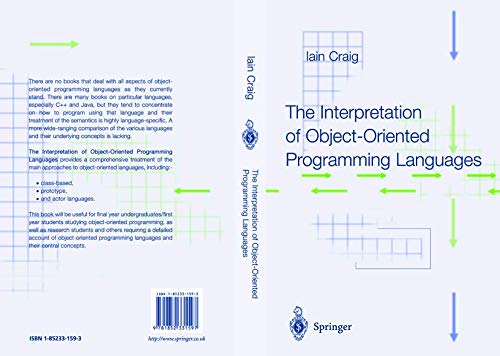 9781852331597: The Interpretation of Object-Oriented Programming Languages