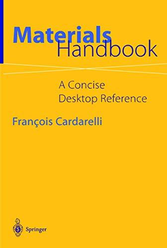 9781852331689: Materials Handbook: A Concise Desktop Reference