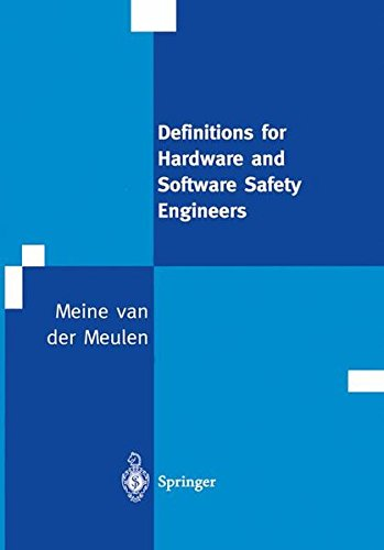 9781852331757: Definitions for Hardware and Software Safety Engineers