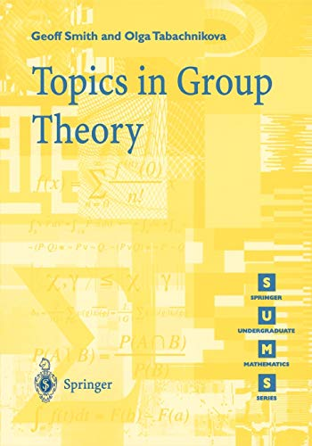 9781852332358: Topics in Group Theory (Springer Undergraduate Mathematics Series)