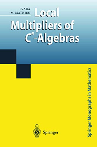 9781852332372: Local Multipliers of C*-Algebras