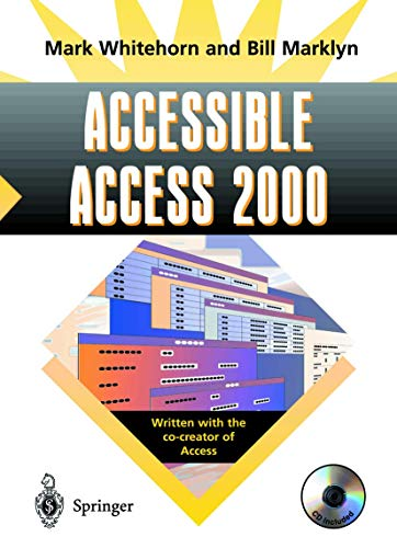 9781852333133: Accessible Access 2000