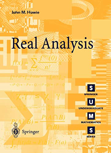 9781852333140: Real Analysis (Springer Undergraduate Mathematics Series)