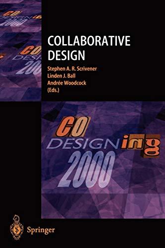 9781852333416: Collaborative Design: Proceedings of CoDesigning 2000