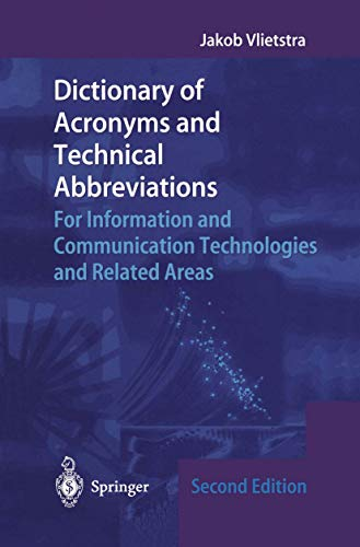 9781852333973: Dictionary of Acronyms and Technical Abbreviations
