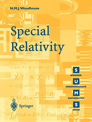 9781852334260: Special Relativity (Springer Undergraduate Mathematics Series)