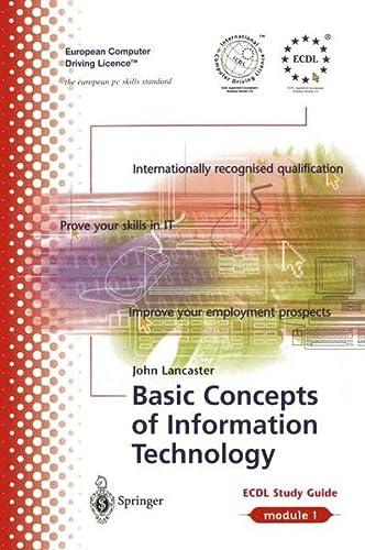 ECDL Module 1: Basic Concepts of Information: Lancaster, John