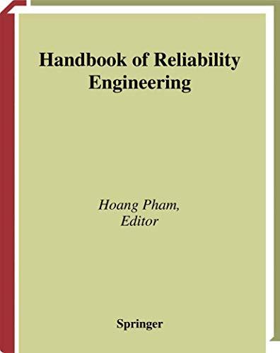 9781852334536: Handbook of Reliability Engineering