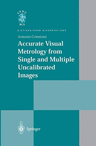 9781852334680: Accurate Visual Metrology from Single and Multiple Uncalibrated Images