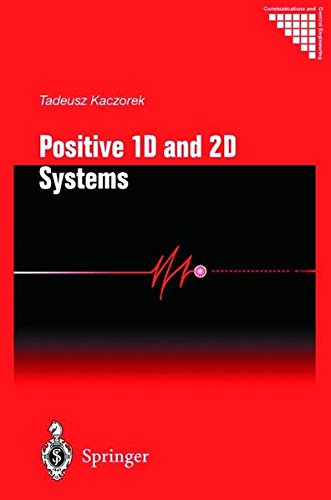 9781852335083: Positive 1D and 2D Systems (Communications and Control Engineering)