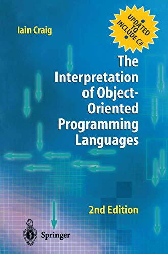 9781852335472: The Interpretation of Object-Oriented Programming Languages