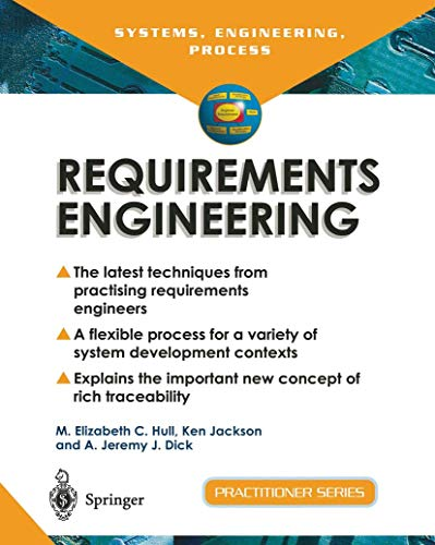 9781852335779: Requirements Engineering