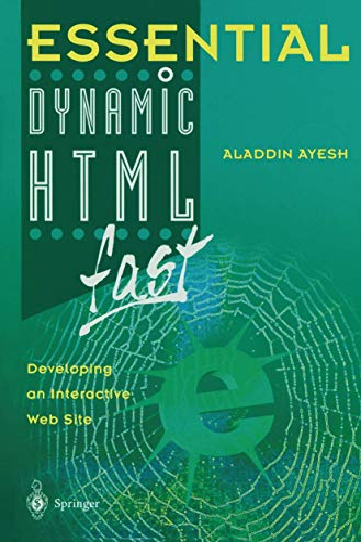 9781852336264: Essential Dynamic HTML fast (Essential Series)