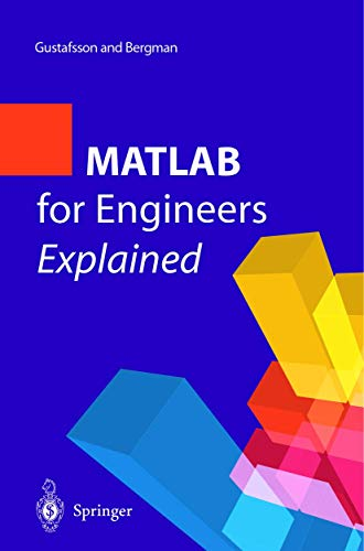 9781852336974: MATLAB® for Engineers Explained