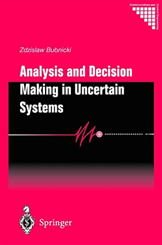 Analysis and Decision Making in Uncertain Systems: Zdzislaw Bubnicki
