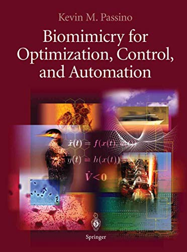 9781852338046: Biomimicry for Optimization, Control and Automation