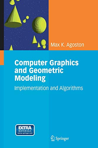 9781852338183: Computer Graphics and Geometric Modelling: Implementation & Algorithms (v. 1)