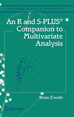 9781852338824: An R and S-Plus® Companion to Multivariate Analysis (Springer Texts in Statistics)
