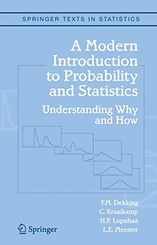 9781852338961: A Modern Introduction to Probability and Statistics: Understanding Why and How (Springer Texts in Statistics)