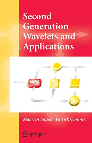 9781852339166: Second Generation Wavelets and Applications